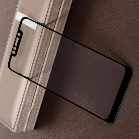 Полноэкранное Закаленное Олеофобное DF Full Screen Защитное Стекло Черное для Xiaomi Redmi Note 8 Pro