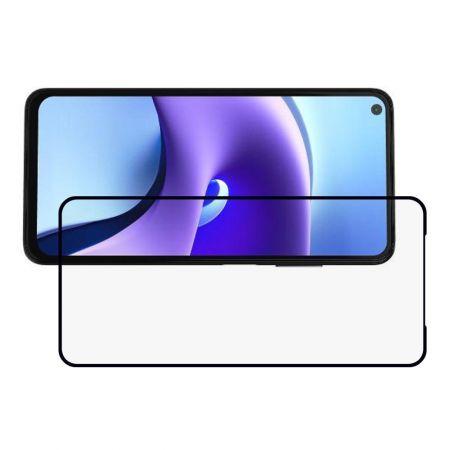 Полноэкранное Закаленное Олеофобное DF Full Screen Защитное Стекло Черное для Xiaomi Redmi Note 9T