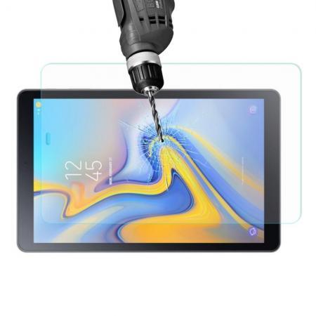 Полноэкранное Закаленное Олеофобное Red Line Full Screen Защитное Стекло Прозрачное для Galaxy Tab A 10.5 SM-T595 SM-T590
