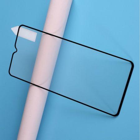 Полноэкранное Закаленное Олеофобное DF Full Screen Защитное Стекло Прозрачное для OnePlus 7T