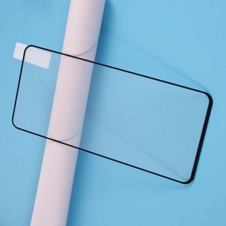 Полноэкранное Закаленное Олеофобное DF Full Screen Защитное Стекло Прозрачное для Samsung Galaxy A71