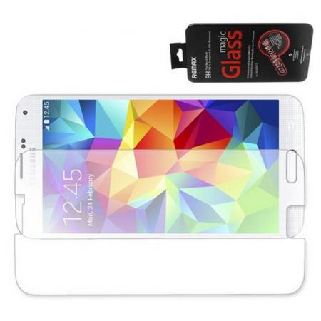 Закаленное Олеофобное Защитное Стекло Прозрачное для Samsung Galaxy S5