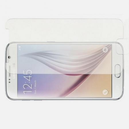 Полноэкранное Закаленное Олеофобное DF Full Screen Защитное Стекло Прозрачное для Samsung Galaxy S6