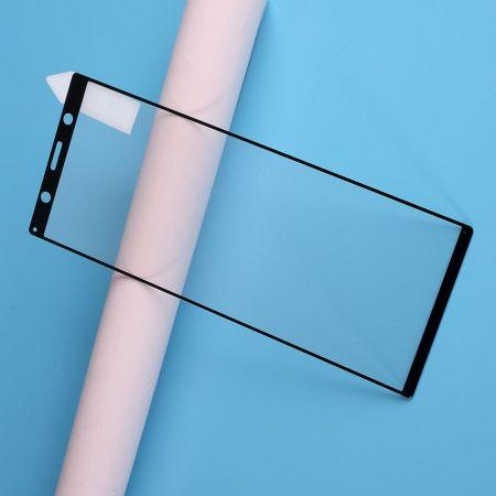 Полноэкранное Закаленное Олеофобное DF Full Screen Защитное Стекло Прозрачное для Sony Xperia 5