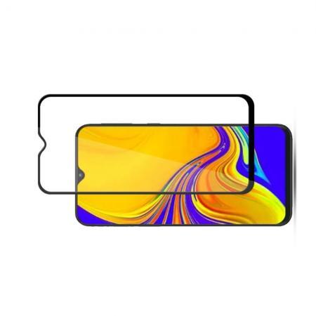 Полноклеевое Full Glue Cover 3D Red Line Черное Защитное Стекло на Экран Samsung Galaxy A50 / A30