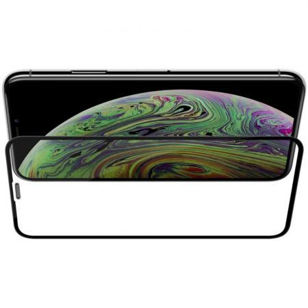 Полноразмерное Изогнутое Закаленное NILLKIN 3D CP+ Черное Стекло для iPhone 11