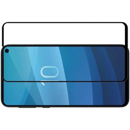 Полноразмерное Изогнутое Закаленное NILLKIN 3D CP+ Черное Стекло для Samsung Galaxy S10e
