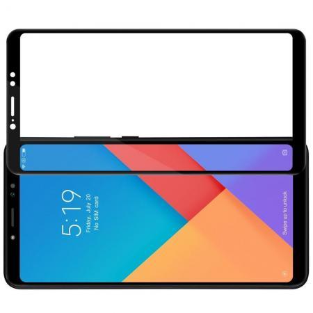 Полноразмерное Закаленное NILLKIN CP+ Черное Стекло для Xiaomi Mi Max 3