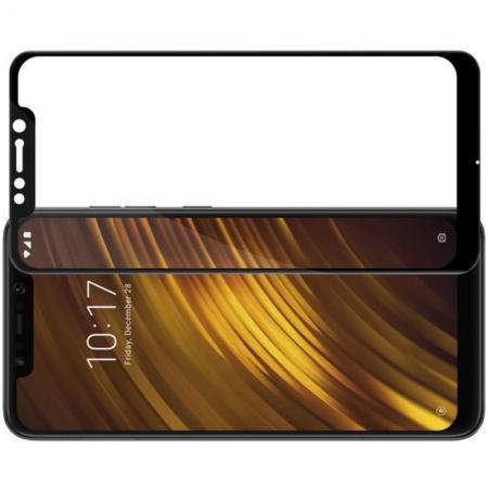 Полноразмерное Закаленное NILLKIN CP+ Черное Стекло для Xiaomi Redmi Note 8 Pro
