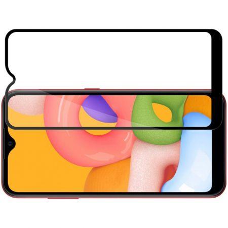 Полноразмерное Изогнутое Закаленное NILLKIN CP+ Прозрачное Стекло для Samsung Galaxy A01