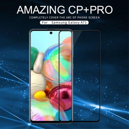 Закаленное NILLKIN CP+ с черными рамками Стекло для Samsung Galaxy A71 / 10 Lite