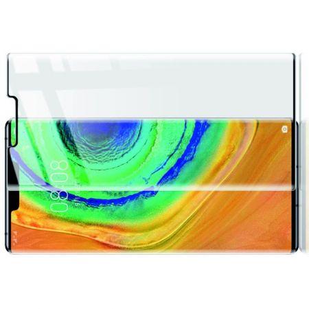 Полноразмерное Закаленное Защитное IMAK Full Screen Стекло для Экрана Huawei Mate 30 Pro Прозрачная рамка