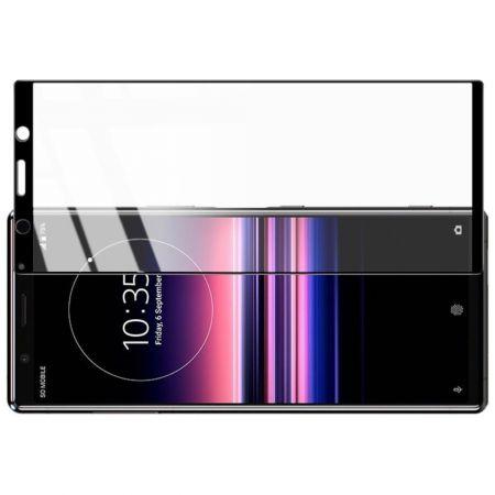 Полноразмерное Закаленное Защитное IMAK Full Screen Стекло для Экрана Sony Xperia 5 Прозрачная рамка