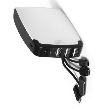 Портативный аккумулятор для телефона с 3 USB выходами 13000 мАч DF