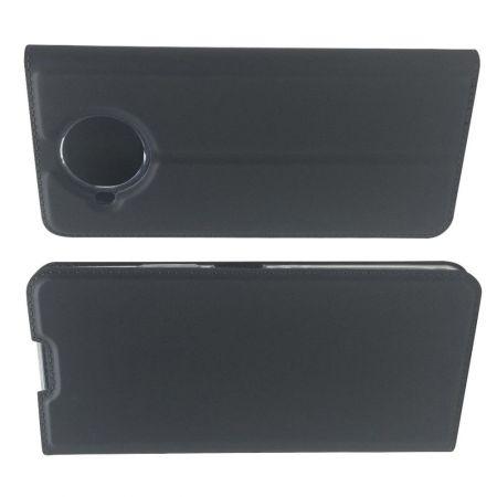 PU Кожаный Чехол Автоматическое Закрывание Подставка и Кошелёк для Nokia 8.3 5G Черный