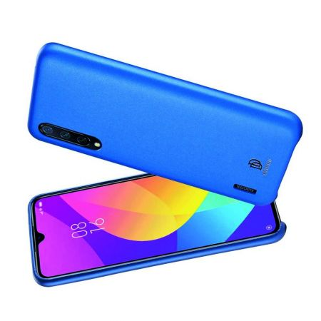 PU Кожаный Чехол для Телефона Dux Ducis Skin Lite для Xiaomi Mi 9 Lite Противоскользящий Ударопрочный Синий