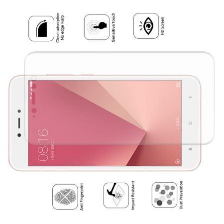 Силиконовая TPU Full Cover Red Line Защитная Пленка на Изогнутый Экран Xiaomi Redmi Note 5A 2/16gb