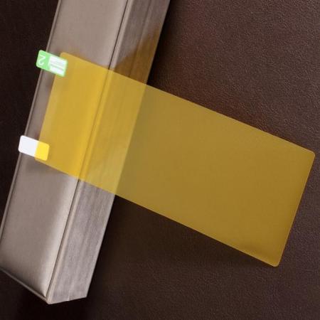 Силиконовая TPU Full Cover Защитная Пленка на Изогнутый Экран Sony Xperia 10 Plus Полное Покрытие