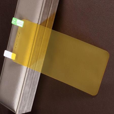 Силиконовая TPU Full Cover Защитная Пленка на Изогнутый Экран Xiaomi Redmi Note 8 Pro Полное Покрытие