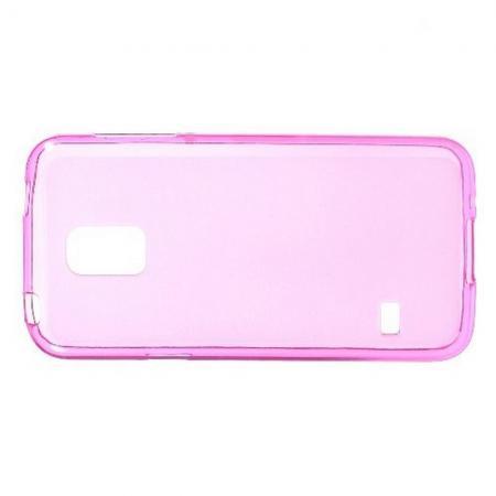 Силиконовый с Рисунком Гель Чехол для Samsung Galaxy S5 Mini Розовый
