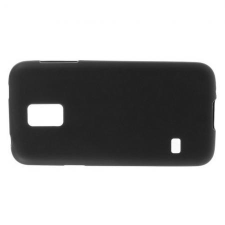 Силиконовый с Рисунком Гель Чехол для Samsung Galaxy S5 Mini Черный