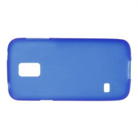 Силиконовый с Рисунком Гель Чехол для Samsung Galaxy S5 Mini Синий