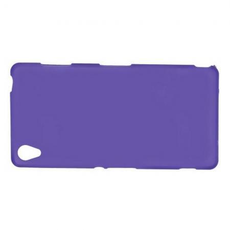 Силиконовый с Рисунком Гель Чехол для Sony Xperia Z3 Фиолетовый