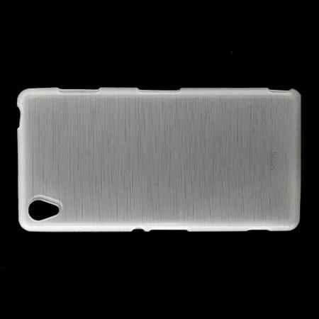 Силиконовый с Рисунком Гель Чехол для Sony Xperia Z3 Белый