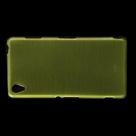 Силиконовый с Рисунком Гель Чехол для Sony Xperia Z3 Зеленый
