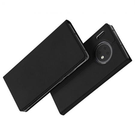 Тонкий Флип Чехол Книжка с Скрытым Магнитом и Отделением для Карты для Huawei Mate 30 Черный