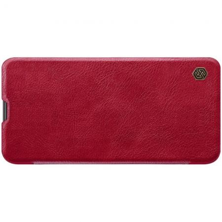 Тонкий Флип NILLKIN Qin Чехол Книжка для Huawei Nova 5T Красный