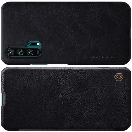 Тонкий Флип NILLKIN Qin Чехол Книжка для Huawei Honor 20 Pro Черный