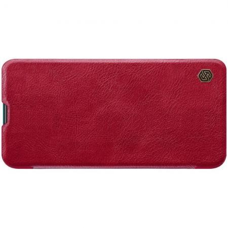 Тонкий Флип NILLKIN Qin Чехол Книжка для Huawei Honor 20 Pro Красный