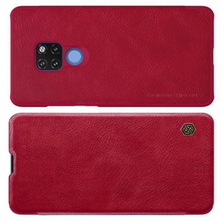 Тонкий Флип NILLKIN Qin Чехол Книжка для Huawei Mate 20 Красный