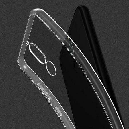 Тонкий TPU Бампер Силиконовый Чехол для Meizu M6T Прозрачный