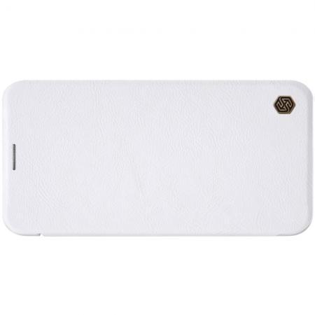 Тонкий Флип NILLKIN Qin Чехол Книжка для iPhone 11 Белый