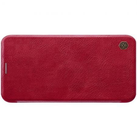 Тонкий Флип NILLKIN Qin Чехол Книжка для iPhone 11 Красный