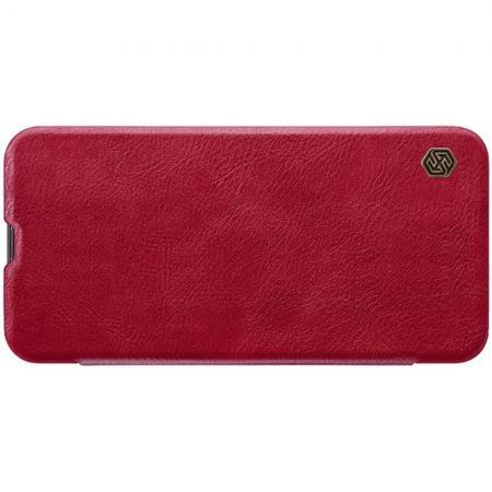 Тонкий Флип NILLKIN Qin Чехол Книжка для Samsung Galaxy A40 Красный