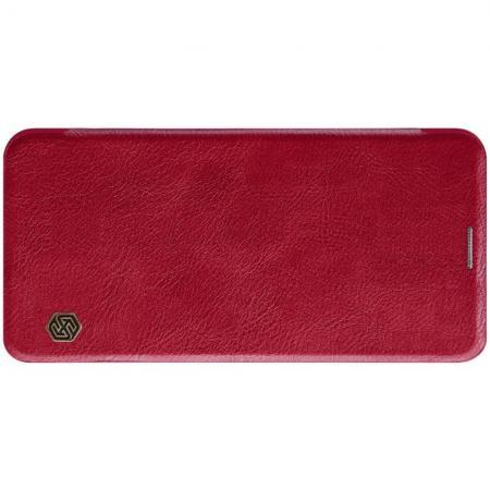 Тонкий Флип NILLKIN Qin Чехол Книжка для Samsung Galaxy A60 Красный