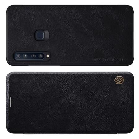 Тонкий Флип NILLKIN Qin Чехол Книжка для Samsung Galaxy A9 2018 SM-A920F Черный