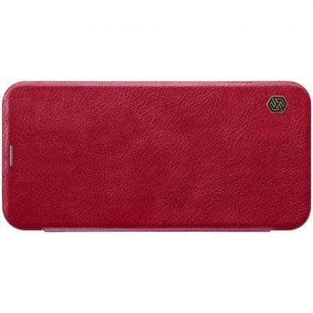 Тонкий Флип NILLKIN Qin Чехол Книжка для Samsung Galaxy J4 Core Красный