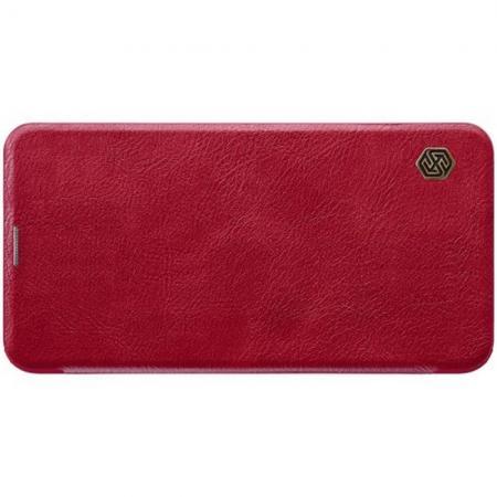 Тонкий Флип NILLKIN Qin Чехол Книжка для Samsung Galaxy S10e Красный