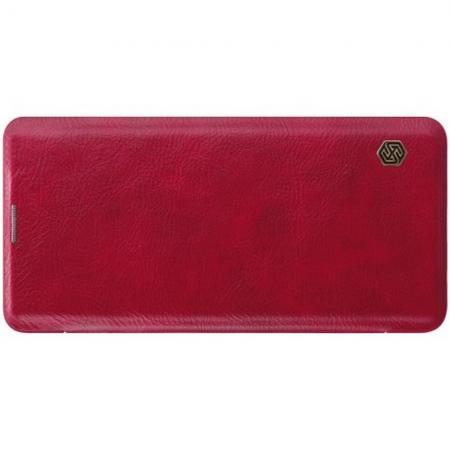 Тонкий Флип NILLKIN Qin Чехол Книжка для Samsung Galaxy S10 Plus Красный