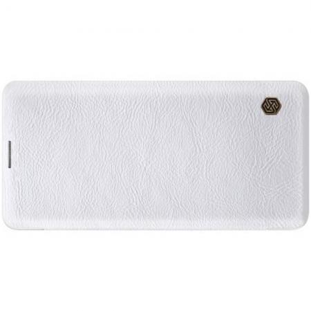 Тонкий Флип NILLKIN Qin Чехол Книжка для Samsung Galaxy S10 Plus Белый