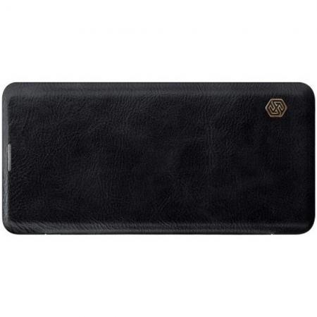Тонкий Флип NILLKIN Qin Чехол Книжка для Samsung Galaxy S10 Plus Черный
