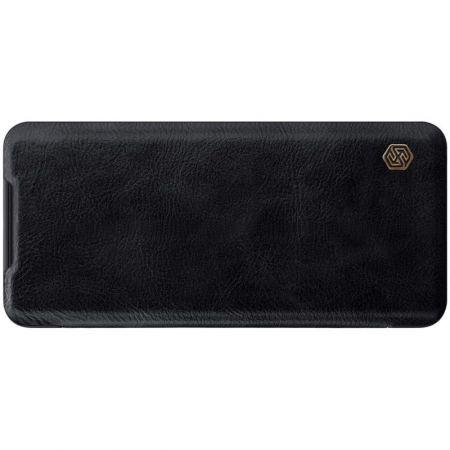 Тонкий Флип NILLKIN Qin Чехол Книжка для Samsung Galaxy S20 Черный