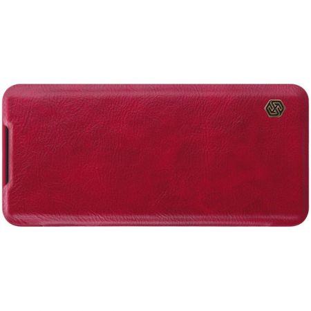 Тонкий Флип NILLKIN Qin Чехол Книжка для Samsung Galaxy S20 Красный