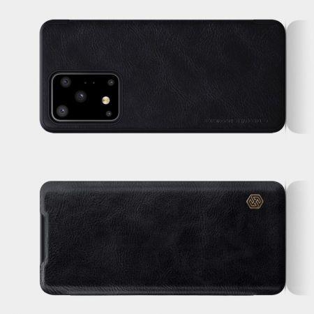 Тонкий Флип NILLKIN Qin Чехол Книжка для Samsung Galaxy S20 Ultra Черный