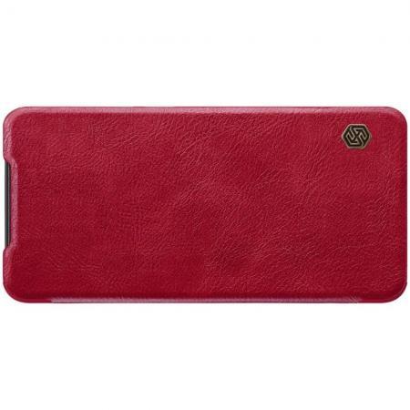 Тонкий Флип NILLKIN Qin Чехол Книжка для Xiaomi Mi 9 Красный