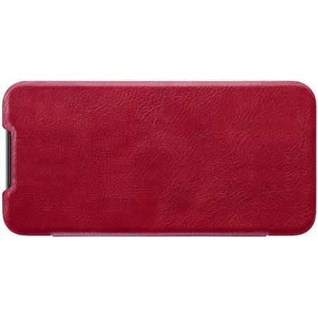 Тонкий Флип NILLKIN Qin Чехол Книжка для Xiaomi Mi 9 SE Красный